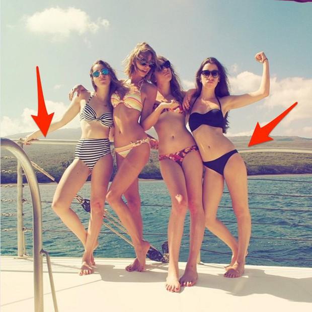 Top 10 ảnh Photoshop fail toàn tập của sao: Có người teo nửa bụng, nóng nhất vẫn là hội chị em Kardashian - Ảnh 6.