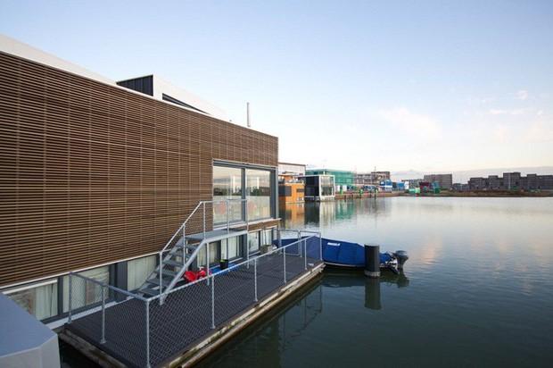 Chiêm ngưỡng cả trăm ngôi nhà được xây nổi trên mặt nước: Một quần thể kiến trúc đáng tự hào của thủ đô Amsterdam - Ảnh 12.