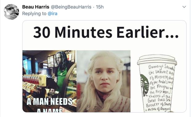 Ơ kìa, sao phim kinh điển như GAME OF THRONES lại để cốc Starbuck xuyên không thế này? - Ảnh 7.
