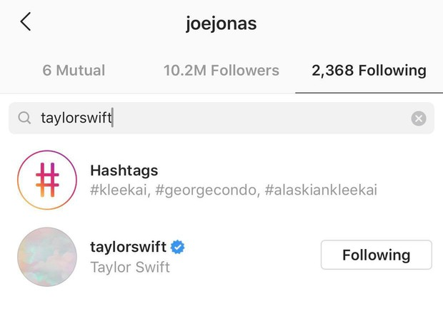 Bạn có biết: Dù đã chia tay nhưng hội người yêu cũ vẫn còn follow Taylor Swift trên instagram? - Ảnh 2.