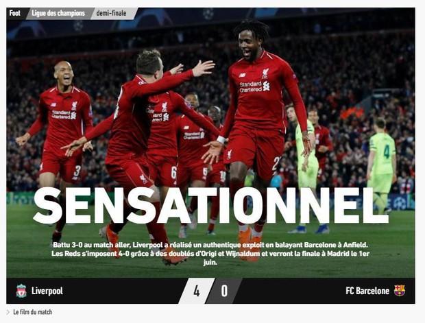 Báo chí thế giới ngả mũ thán phục, hết lời ca ngợi màn ngược dòng thần thánh của Liverpool - Ảnh 5.