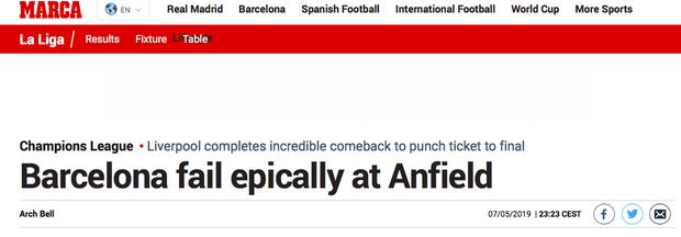 Báo chí thế giới ngả mũ thán phục, hết lời ca ngợi màn ngược dòng thần thánh của Liverpool - Ảnh 1.