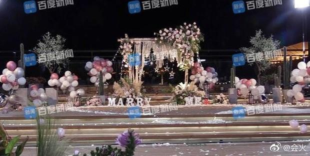 Rò rỉ hình ảnh Hàm Hương Tân Cương bụng to vượt mặt, rơi nước mắt khi được Tổng tài kém 4 tuổi cầu hôn - Ảnh 6.
