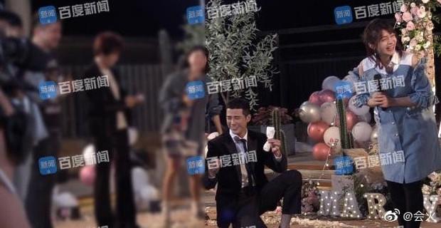 Rò rỉ hình ảnh Hàm Hương Tân Cương bụng to vượt mặt, rơi nước mắt khi được Tổng tài kém 4 tuổi cầu hôn - Ảnh 3.