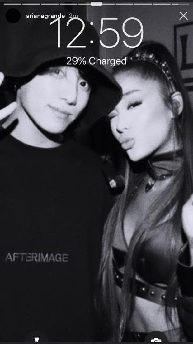 Một bức hình cảm ơn thôi nhưng liệu fan có quyền hy vọng vào màn hợp tác giữa Ariana Grande và BTS hay không? - Ảnh 6.