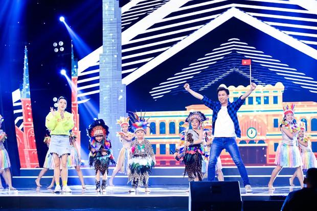 Hòa Minzy tiếp tục live không trượt phát nào trong đêm Bán kết Tuyệt đỉnh song ca nhí 2019 - Ảnh 7.