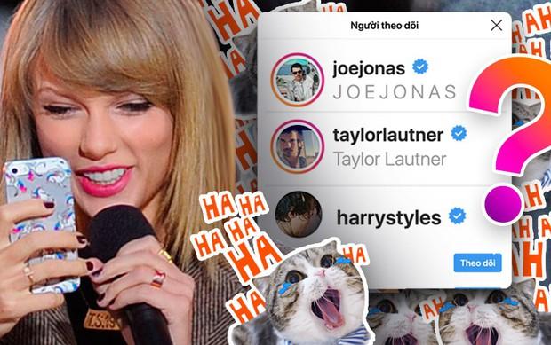 Bạn có biết: Dù đã chia tay nhưng hội người yêu cũ vẫn còn follow Taylor Swift trên instagram? - Ảnh 1.
