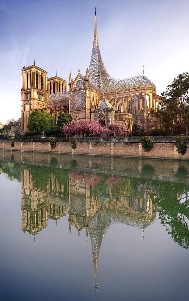 Ý tưởng sửa mái Nhà thờ Đức Bà Paris thành nhà kính khổng lồ giữa không trung được đón nhận nhiệt liệt - Ảnh 6.