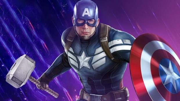 Thì ra trước ENDGAME, Captain America nhấc được búa của THOR từ lâu rồi mà cứ giả bộ khiêm tốn! - Ảnh 1.