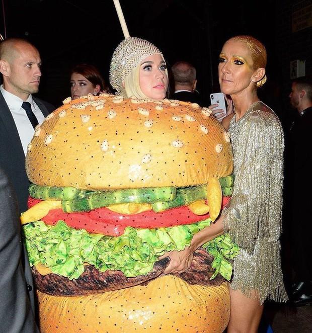 Nếu thắc mắc Katy Perry đi vệ sinh kiểu gì khi diện bộ đồ hamburger thì đây là câu trả lời cho bạn! - Ảnh 3.