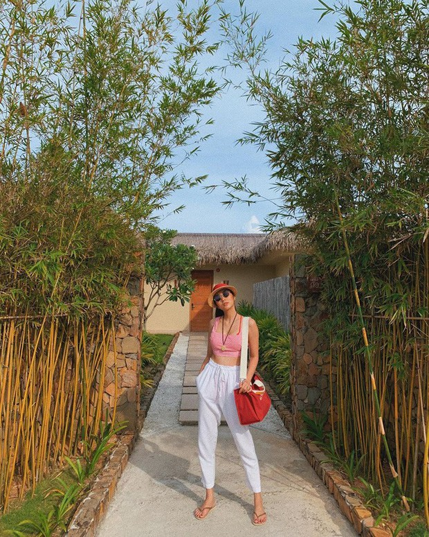 Đã mắt khi ngắm style du lịch của sao Việt nhưng đồng thời, bạn sẽ góp nhặt được 1001 ý tưởng diện đồ tuyệt xinh - Ảnh 10.