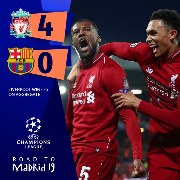 Lữ đoàn đỏ vui sướng tột cùng sau khi loại Messi và các đồng đội theo cách chưa từng có trong lịch sử Champions League - Ảnh 9.