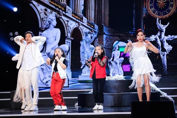 Hòa Minzy tiếp tục live không trượt phát nào trong đêm Bán kết Tuyệt đỉnh song ca nhí 2019 - Ảnh 11.