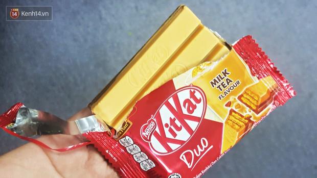 Giật mình Kit Kat vị trà sữa không biết có mặt ở Việt Nam tự bao giờ, hơn nữa còn vô cùng dễ mua - Ảnh 5.