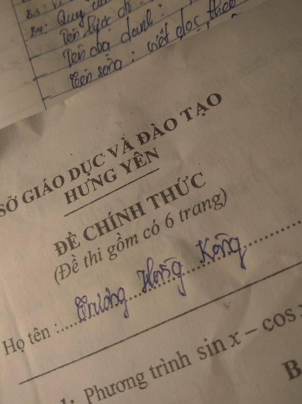 Tổng hợp những tình huống mất não của học sinh trong phòng thi, run đến nỗi quên luôn tên mình! - Ảnh 9.