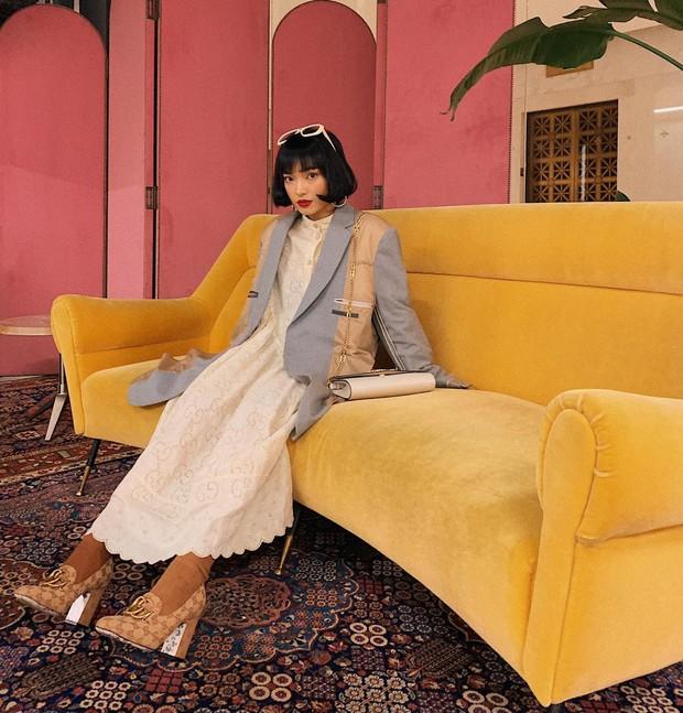 Châu Bùi vi vu từ sự kiện Gucci và show Louis Vuitton, hội ngộ với toàn nhân vật oách bậc nhất - Ảnh 6.