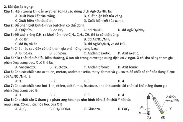 Ôn thi THPT Quốc gia môn Hoá học: Những dạng bài thường gặp liên quan đến dung dịch Bạc Nitrat - Ảnh 3.