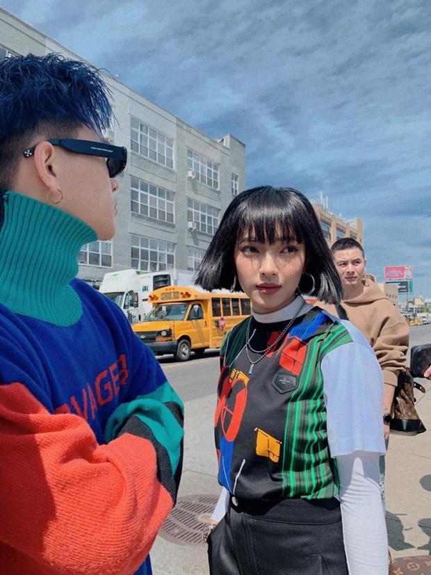 """Nhìn khu phố nghệ thuật mà Châu Bùi và Decao vừa check-in mà chỉ biết """"mắt tròn mắt dẹt"""" vì đẹp không thua gì phim trường Hollywood - Ảnh 3."""