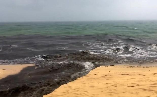 Hàng loạt bãi biển nổi tiếng tại Việt Nam kêu cứu vì dòng nước thải bẩn xả thẳng từ các hệ thống cống thoát nước - Ảnh 6.