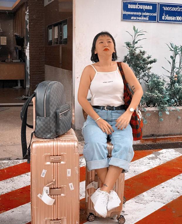 Tuyển tập những kiểu tạo dáng mặn còn hơn cả... vựa muối của Trang Hý khi đi du lịch - Ảnh 11.