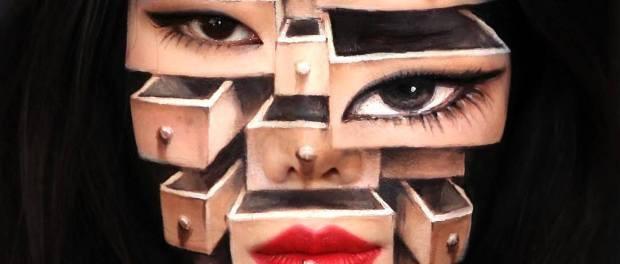 Bối rối với những khuôn mặt được trang điểm theo phong cách 3D đầy lú lẫn - Ảnh 15.