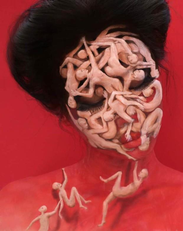 Bối rối với những khuôn mặt được trang điểm theo phong cách 3D đầy lú lẫn - Ảnh 17.