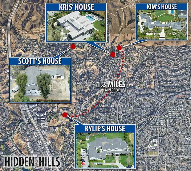 Biết nhà Kardashian giàu nhưng ai ngờ giàu đến độ này: Thầu hẳn khu đất khổng lồ xây 6 biệt thự trăm tỉ chỉ vì 1 lý do đơn giản - Ảnh 5.
