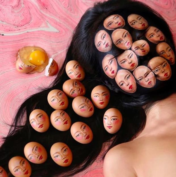 Bối rối với những khuôn mặt được trang điểm theo phong cách 3D đầy lú lẫn - Ảnh 5.