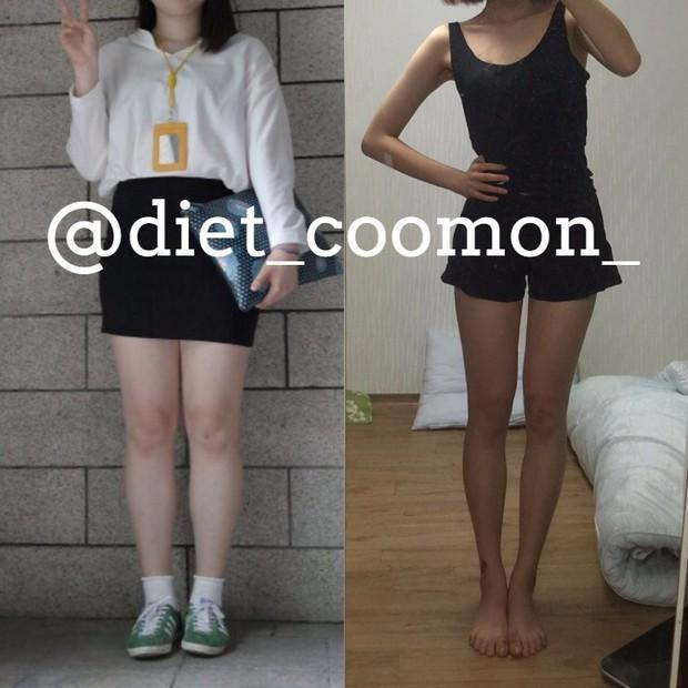 Những màn Before - After siêu đỉnh từ gái Hàn: giảm được 10 - 20kg là chuyện quá bình thường - Ảnh 16.