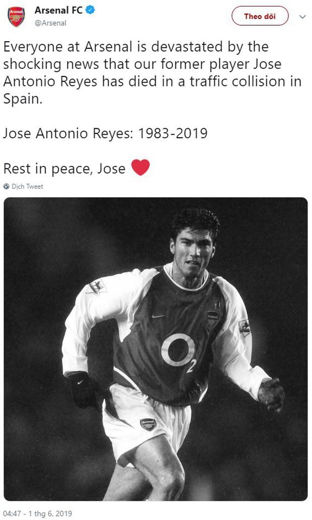 Reyes qua đời sau tai nạn giao thông, cả thế giới bóng đá khóc thương cho một kèo trái từng làm điên đảo cầu trường - Ảnh 5.