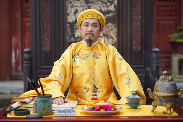 Thánh ăn hại Jun Phạm thần thái bất ngờ, sánh đôi hoàng hậu Diễm My 9x trên thảm đỏ phim cung đấu Việt Nam Phượng Khấu - Ảnh 14.