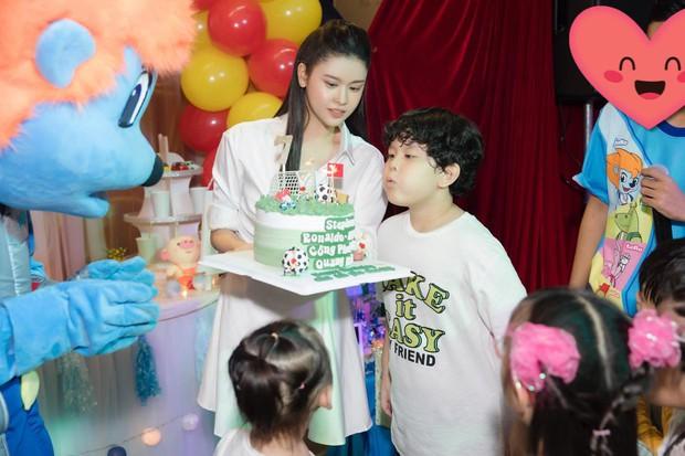 Trương Quỳnh Anh tổ chức tiệc sinh nhật 7 tuổi cho con trai, hoàn toàn vắng mặt Tim - Ảnh 1.