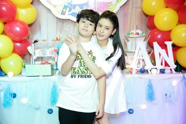Trương Quỳnh Anh tổ chức tiệc sinh nhật 7 tuổi cho con trai, hoàn toàn vắng mặt Tim - Ảnh 3.