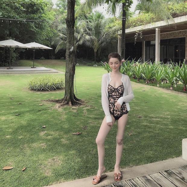 Bạn gái thiếu gia Phan Hoàng VS tình địch được mệnh danh là nữ thần dương cầm: Ai sexy hơn khi diện bikini? - Ảnh 4.