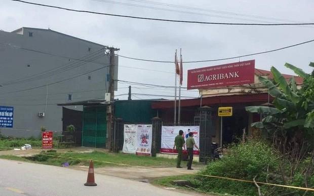Công an Phú Thọ lên tiếng vụ thanh niên cướp hơn 500 triệu của ngân hàng Agribank - Ảnh 1.