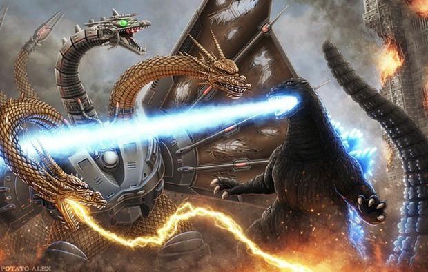 Tiết lộ kẻ thù chung cực kì nguy hiểm của Godzilla và Kong ngay đoạn kết Godzilla: Đế Vương Bất Tử - Ảnh 4.