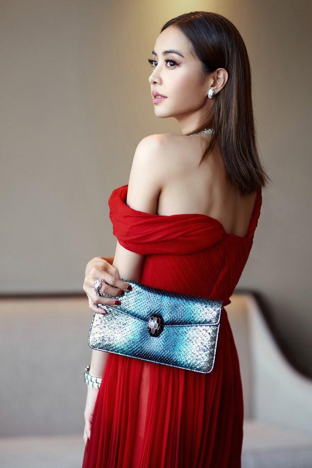 """""""Mỹ nhân đẹp nhất Thái Lan"""" Chompoo Araya ngọt ngào như công chúa, đối lập Thái Y Lâm sexy hết nấc khi diện chung váy - Ảnh 4."""