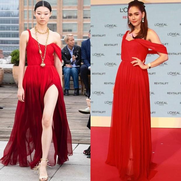 """""""Mỹ nhân đẹp nhất Thái Lan"""" Chompoo Araya ngọt ngào như công chúa, đối lập Thái Y Lâm sexy hết nấc khi diện chung váy - Ảnh 6."""
