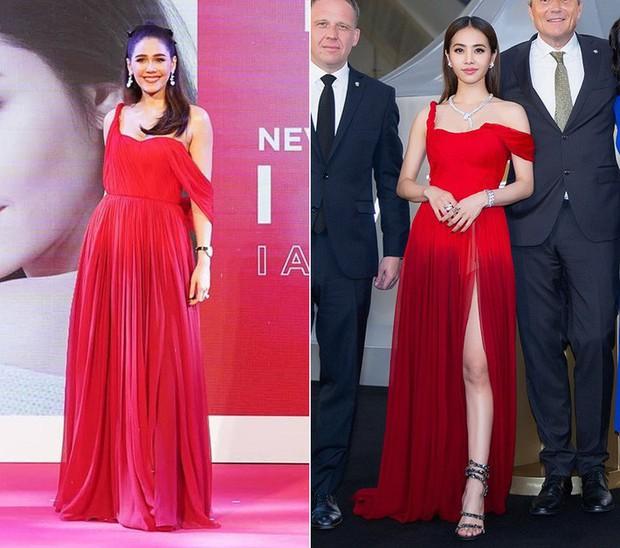 """""""Mỹ nhân đẹp nhất Thái Lan"""" Chompoo Araya ngọt ngào như công chúa, đối lập Thái Y Lâm sexy hết nấc khi diện chung váy - Ảnh 7."""