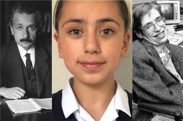 Cô bé 11 tuổi có chỉ số IQ cao hơn cả 2 thiên tài nổi tiếng Albert Einstein và Stephen Hawking - Ảnh 1.
