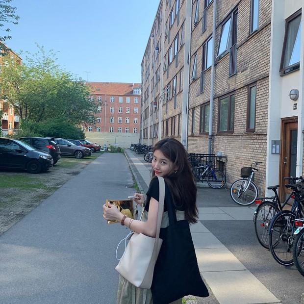 Chỉ có thể là Suzy: Đi du lịch châu Âu mà chụp hình... nhìn như ở Ba Vì, may là chị vẫn đẹp nên fan tha thứ hết! - Ảnh 18.