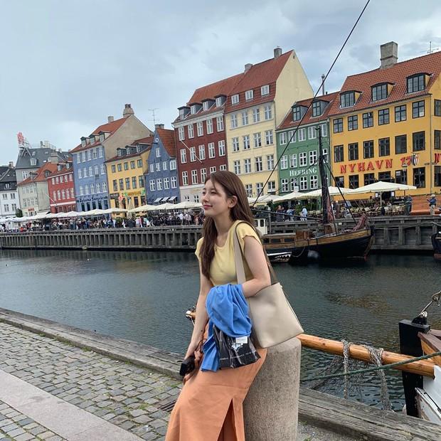 Chỉ có thể là Suzy: Đi du lịch châu Âu mà chụp hình... nhìn như ở Ba Vì, may là chị vẫn đẹp nên fan tha thứ hết! - Ảnh 4.