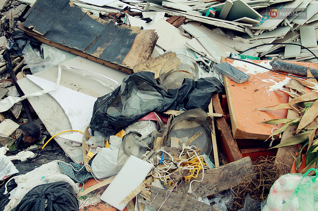 Chùm ảnh: Vừa hoạt động 3 tháng, con đường mang tên nhà tư sản Trịnh Văn Bô đã ngập ngụa rác thải - Ảnh 8.