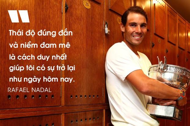 Rafael Nadal, vị Vua vĩ đại với những ước nguyện nhỏ nhoi - Ảnh 2.