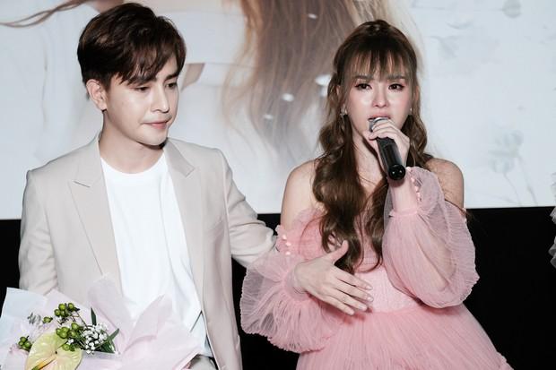 Thu Thủy xúc động khi nói về bạn trai mới trong buổi ra mắt MV - Ảnh 2.