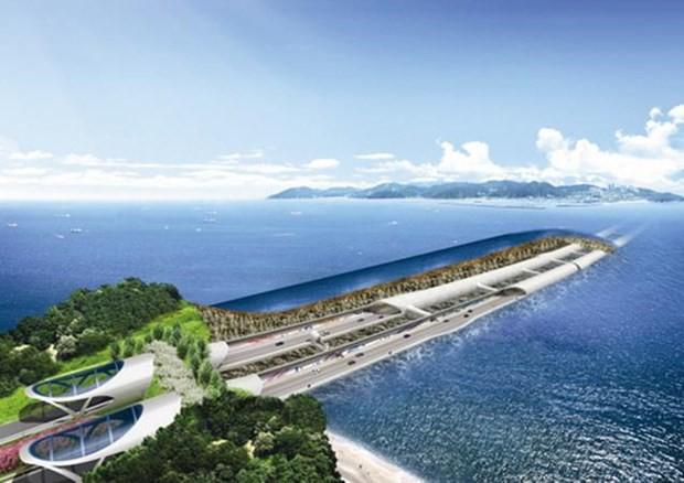 Đường hầm dưới biển dài nhất Hàn Quốc chính thức thông xe - Ảnh 1.