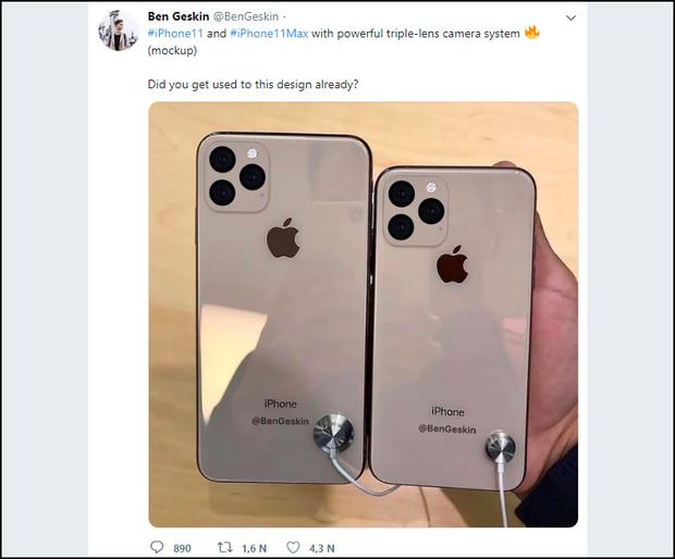 iPhone XI lộ hoàn toàn ảnh mẫu, bị dìm hàng tận đáy không ngoi lên nổi - Ảnh 1.