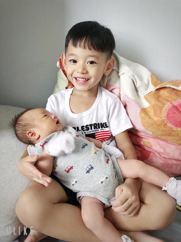 Trà My Idol khoe ảnh con trai thứ 2 giống bố như đúc khiến Tăng Thanh Hà cũng để lại bình luận - Ảnh 5.