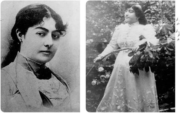 Choáng với nhan sắc nghiêng nước nghiêng thành của 2 cô công chúa con vua Ba Tư thế kỷ 19 - Ảnh 2.