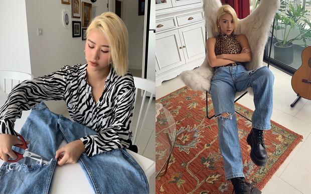 Sao Việt lẫn dàn KOLs nổi tiếng vẫn chăm chỉ tái chế quần áo cũ dù dư tiền mua đồ mới - Ảnh 1.